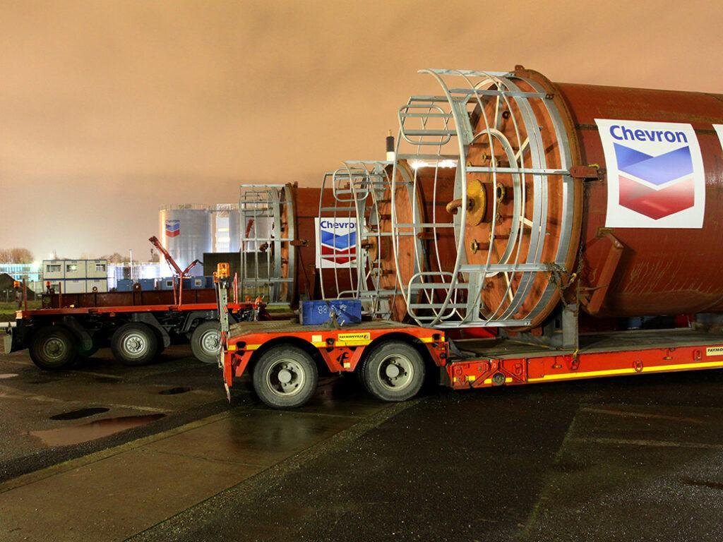 Chevron Lubricants Transport