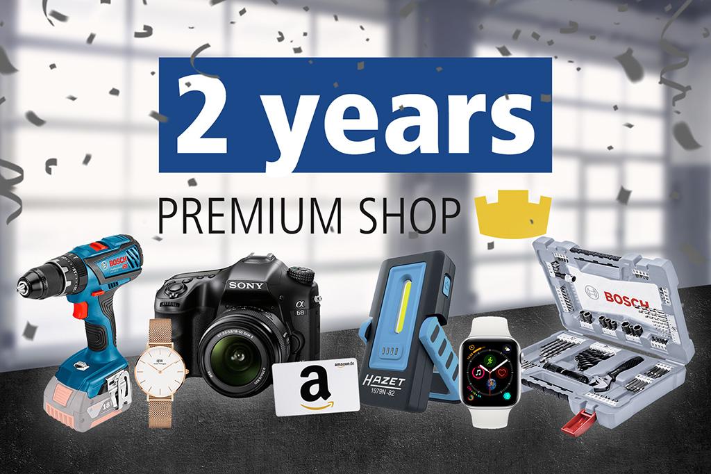 DT Spare Parts Premium Shop compie due anni