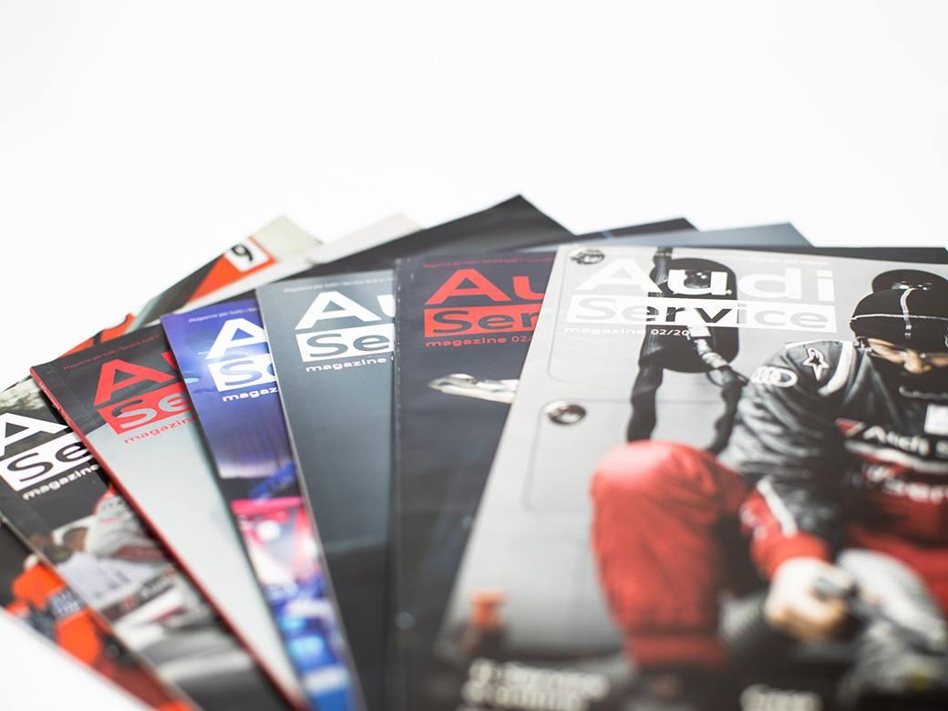 Audi Service Magazine - Editoria Aziendale