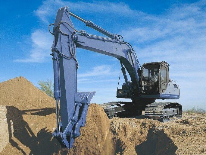 Berco Service Line Excavator